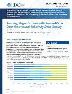 Enabling organizations with trusted data