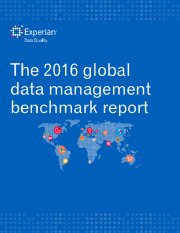 Our 2016 global data management benchmark report is out!