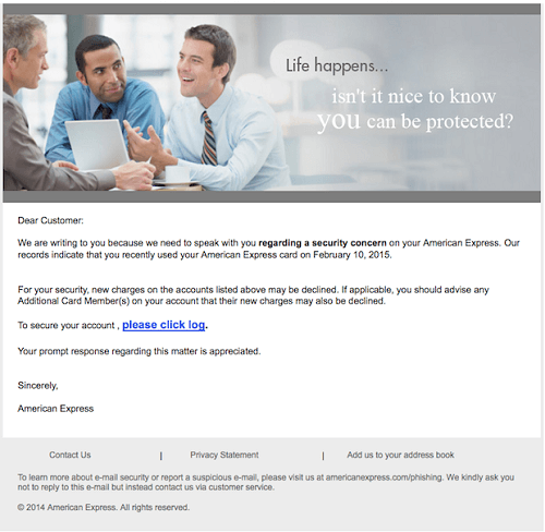 Example of spear phishing