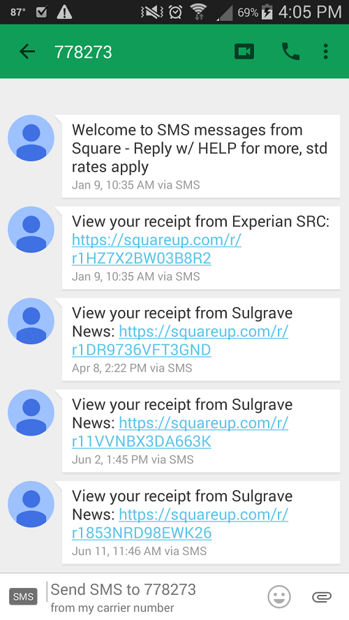 square inc text receipt
