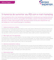 5 maneiras de aumentar seu ROI com e-mail marketing