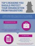 Top 5 reasons you should protect your organization from fraudsters