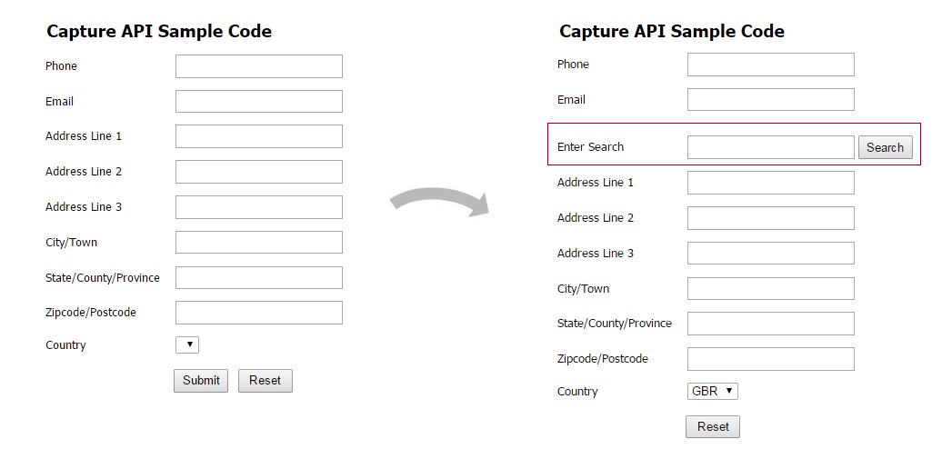 Capture Sample Code guide   Experian