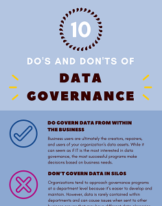 10 do's and don'ts of data governance