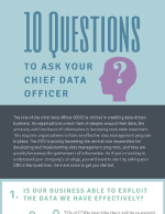 10 questions to ask your Chief Data Officer