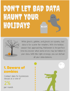 Don't let bad data haunt your holidays