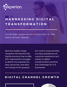 Harnessing digital transformation: Customer experience initiatives in the data-driven world