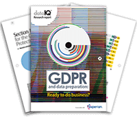 GDPR and data preparation