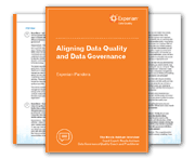 Aligning Data Quality and Data Governance