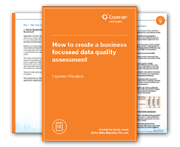 How to create a business focussed data quality assessment