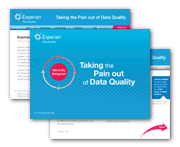 Taking the Pain out of Data Quality
