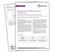 Global Intuitive Address Capture for Retailers