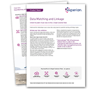 Data Matching and Linkage