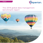 2018 global data management benchmark report