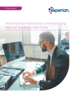 Leveraging data for financial institutions