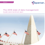 The 2018 state of data management